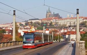 tömegközlekedés Prága